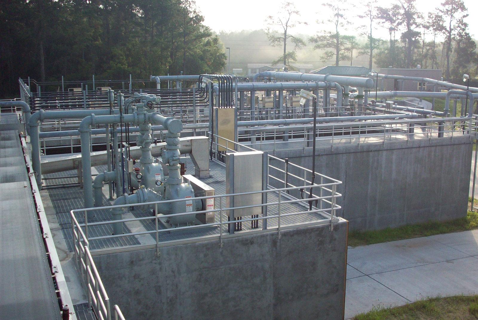 Kingwood West Wastewater Treatment Plant Lem